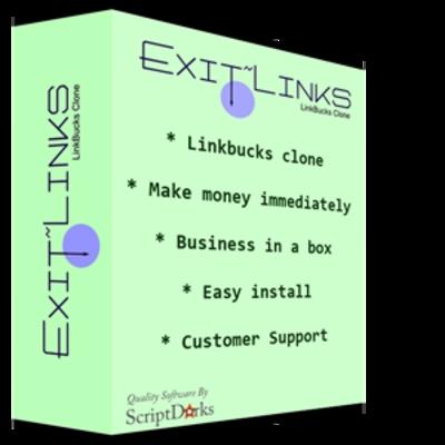 Product picture NEW Linkbucks Clone Script