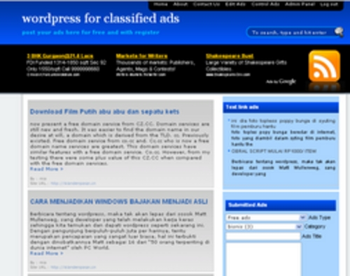 Product picture Wordpress for classified ads