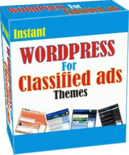 Product picture Instan Wordpress For Classified Ads v3.0